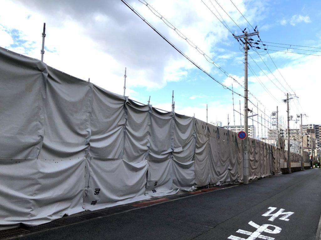 2020-01-29ライフ本山店の南にホームセンター開店3